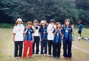 明大生田サッカー部の輪