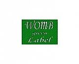 ‐WOMB‐glean label店
