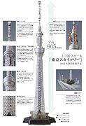 東京スカイツリー模型700/1