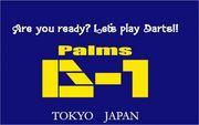 """Palms D-1  """"念曜日"""""""