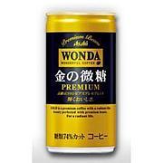 WONDA 金の微糖