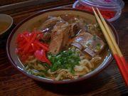沖縄ソバを食べてる君が好き。