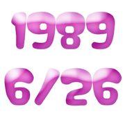 1989年6月26日生まれ