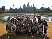 ☆We are カンボジア代表☆