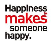 Happiness makes someone happy