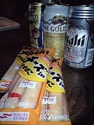 チーかま&缶ビールがアレな人