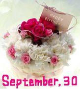 1988年9月30日生まれ