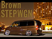 ブラウン☆ステップワゴン♪