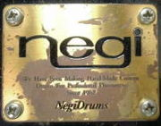 I LOVE  Negi Drum!