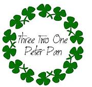 Three Two One Peter Pan