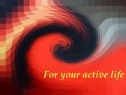 For your active life 7544