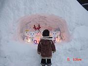 白峰 雪だるま祭り