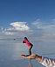 天空の鏡 ウユニ塩原 ボリビア