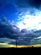 夏の夜に吹く風