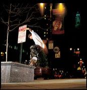 スケートボード深夜族