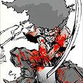 // 岡崎能士 Afro samurai //