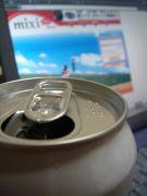 一杯 飲みながら mixi