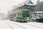 京都の街に嵐電