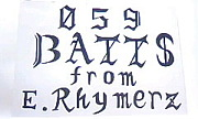 BATTS from 〜E.Rhymerz〜