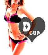 Dカップです
