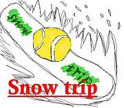 Snow trip (西日本でテニス)