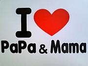 I LOVE PaPa&Mama☆ベビー服