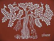Warli Painting (ワルリー画)