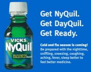 <Vicks NyQuil>・最強カゼ薬!