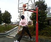 富士でバスケ