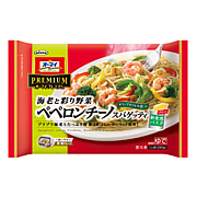 海老と彩り野菜ぺペロンチーノ