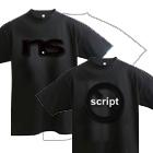 no scriptのTシャツを作りたい