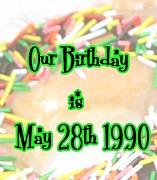 1990年5月28日生まれ