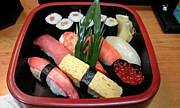 成田で寿司と酒を楽しむ