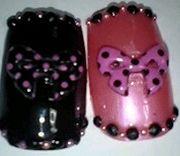 黒と赤♡黒とピンク