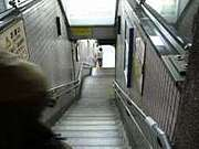 地下鉄の強風がウザい。