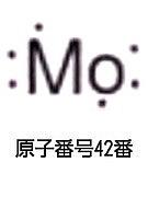Mo 原子番号42番