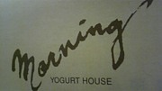 morning  -YOGURT HOUSE-