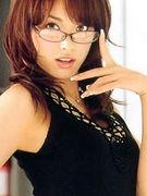 好きです赤&黒ぶちメガネ☆