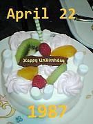 1987年4月22日生まれ〜♪♪