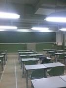 夕陽丘予備校自習室
