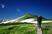 静かな北アルプス登山