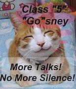 クラス5の5はゴズニーのゴ