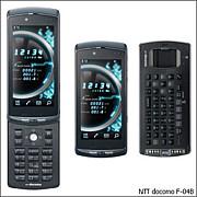 世界初のセパレート携帯【F04B】