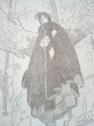 小南姉さんと『紙のバラ』。