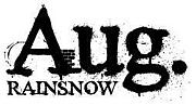 Aug.RAINSNOW