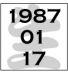 1987年1月17日生、あつまれー!
