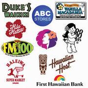 ハワイのロゴが好き