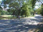 NYの中央公園を自転車で攻める