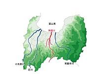 神通川が大好き!