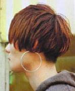 Nape-less Hair